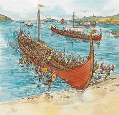 Viking Raids   The Vikings . Vikings began to raid the coasts and islands of ...