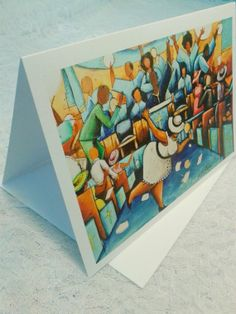 Black Art Greeting Cards by ArtbyAnt on Etsy, $5.00