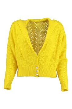 Yellow and White Lace Back Cardigan Super cute yellow cardigan ...