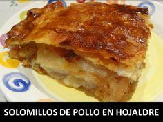 Platos | Recetas Pieras Pasta Filo, Empanadas, Lasagna, Food And Drink, Ethnic Recipes, Chicken Recipes, Flaky Pastry, Marmalade, Cooking