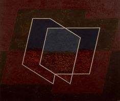 Penetrating (B) by Josef Albers, 1943, Guggenheim Museum Solomon R. Guggenheim Museum, New York Estate of Karl Nierendorf, By purchase © 2016 The Josef and Anni Albers Foundation / Artists Rights Society (ARS), New York Medium: Oil, casein, and tempera on Masonite