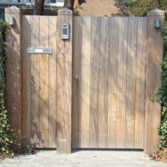 woodsecrets   standaard poort