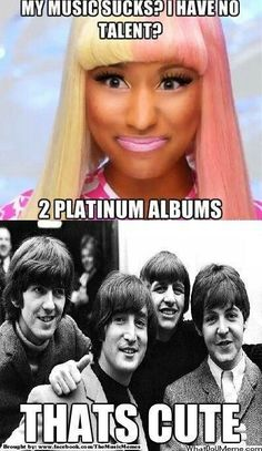 How should i compare and contrast the beatles and Justin Bieber?