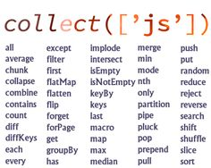 Collect.js – Dependency Free Wrapper for Working with Arrays and Objects #collection #javascript #array #functions #object #dependencyFree