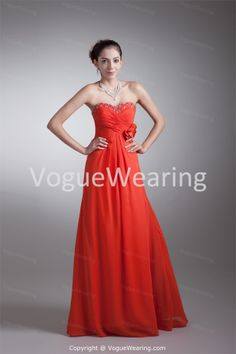 Fall Holiday Floor-Length Chiffon Strapless Special Occasion Dresses -Special Occasion Dresses