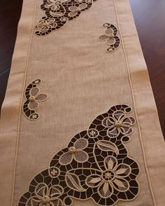 55 Likes, 12 Comments - gülcan Filet Crochet, Crochet Motif, Irish Crochet, Lace Patterns, Embroidery Patterns, Romanian Lace, Bruges Lace, Japanese Crochet, Crochet Stitches