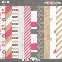 You are | Papers  from France M Designs
