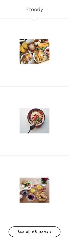 """""""#foody"""" by ally-xcv ❤ liked on Polyvore featuring food, Yummi and heatlhy"""