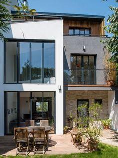 Une renaissance architecturale via un mariage entre différentes matières : après travaux