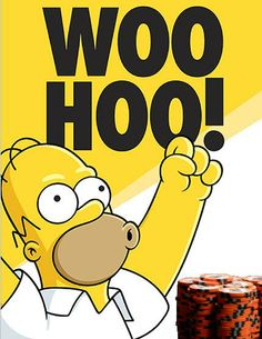 Thanks to Homer Simpson, I actually say that when I'm excited! Homer Simpson, Simpsons Funny, The Simpsons, Simpsons Videos, Big Time Rush, Simpsons Springfield, Los Simsons, I Got The Job, Cartoons
