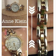 Beautiful Gold/Silver Anne Klein watch Beautiful Gold/Silver Anne Klein watch. Worn only a handful of times. Needs a battery. Anne Klein Jewelry