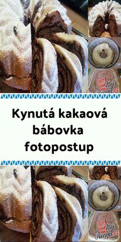 Kynutá kakaová bábovka - FOTOPOSTUP