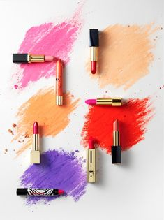 Beauty I Photography by Frank Brandwijk I 'Lipsticks & Color' 'Photography Stilllife Beauty Product, Makeup & Cosmetics'