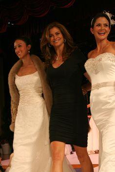 Kathy Ireland and models Kathy Ireland, Fashion Show, Actresses, Models, Wedding Dresses, Lady, Female Actresses, Templates, Bride Dresses