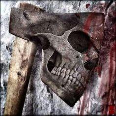 Skull Axe