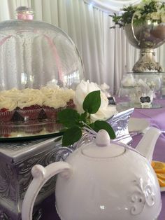 High Tea @ Three Oaks Venue in Centurion Pretoria Three Oaks, Pretoria, High Tea, Snow Globes, Tea Party, Table Decorations, Home Decor, Tea, Tea Time