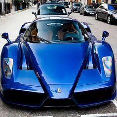Tour De France Blue Enzo  Follow @Ferrari_Automotive  |Photo:DavidAlberts| (at Follow @Ferrari_Automotive)