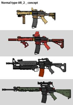 weapons_concept, Seonhyeok Jeon