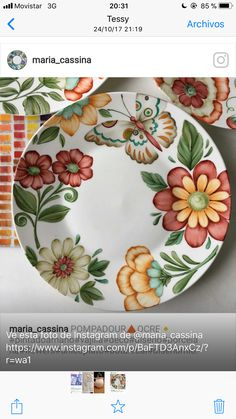 China Painting, Ceramic Painting, Fabric Painting, Ceramic Art, Porcelain Painting Ideas, Painted Plates, Hand Painted Ceramics, Porcelain Ceramics, Plates On Wall