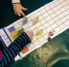 jeu de la course aux escargots fabriqué chez Francine Math For Kids, Activities For Kids, Pond Life, Cardboard Toys, Garden Theme, Snail, Mathematics, Elementary Schools, Board Games
