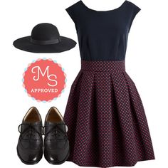 London and Done Dress by modcloth on Polyvore