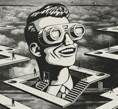 illustrations scifi & retro