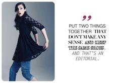 "Wilhelmina Model Erica by Mannbutte for ""& That's an Editorial.""  www.wilhelminadubai.com"