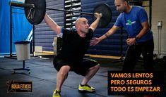 Vamos lentos, pero seguros. Todo es empezar #borjafitness #nutricióndeportiva #enforma #fitness #crossfit #halterofilia #natación #triatlón #trail #running #ciclismo #mtb #mma #energía #actitud #estarenforma #tenis #fútbol #remo #piragüismo #deporte #salud #health #entrenamiento