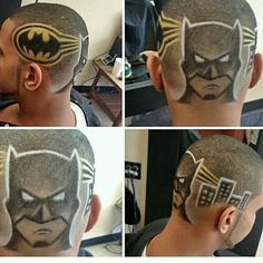 Batman haircut