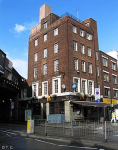 New Dover Castle, 172 Westminster Bridge Road, SE1 - in October 2014. David Devenish was first married to John's sister Martha. After her death, he married the much younger Sarah, who was his wife's niece. He was a long term business partner of John's
