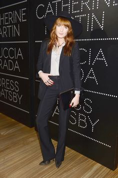 Florence Welch is all about confidence in her wardrobe.