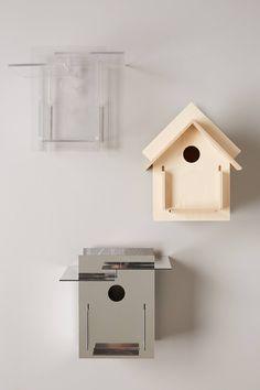 Architecture Lines Birdhouse