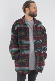Vintage Aztec Jacket | GULLYGARMS | ASOS Marketplace