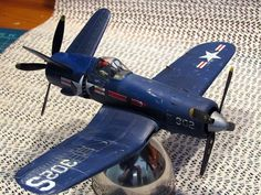 Model F4U Corsair Pusher I found online.