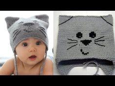 f40618b56 1451 najlepších obrázkov na tému Pletené detské čiapky za rok 2019 ...