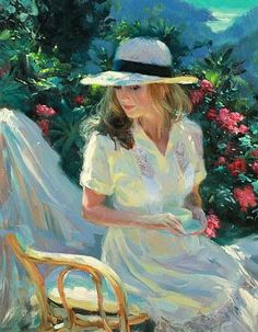 Kai Fine Art is an art website, shows painting and illustration works all over the world. Painting People, Figure Painting, Painting Art, Victorian Paintings, Beauty In Art, Russian Painting, Pintura Country, Classical Art, Fine Art