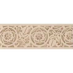 Border Stencils | Carved Leaves Classic Stencil | Royal Design Studio