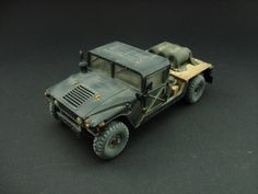 The High Mobility Multipurpose Wheeled Vehicle (HMMWV) 1/35 Scale Model