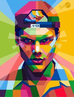 Toni Himself in WPAP by toniagustian on DeviantArt Dj Music, Music Is Life, Good Music, Tim Bergling, Pop Art Wallpaper, Edm Festival, Arte Pop, Beautiful Soul, Electronic Music
