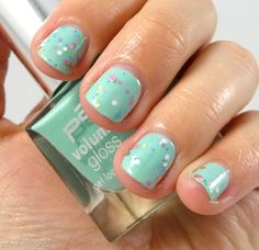 Speckled Nails
