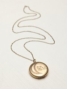 Free People Light of the Magic Hour Locket <3