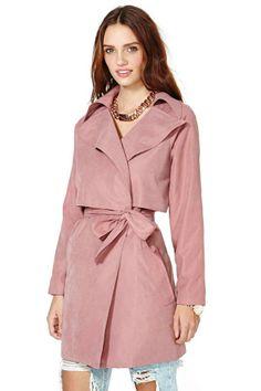 Incognito Trench Coat