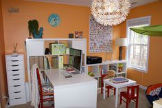 office and playroom. Combination Office Playroom - Google Search And