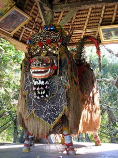 Barong is a lion-like creature and character in the mythology of Bali…