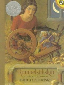 Capa de A Bela Adormecida na edição alemã, com ilustrações de Paul O Zelinsky.