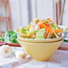 Thai Chicken Cucumber Salad