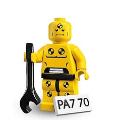Lego 8683 Abriss Dummy Minifigures Serie 1 Nr 8 Figur + BPZ