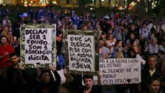 Tras discurso de Macri, hubo cacerolazo en Plaza de Mayo