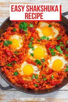 Inspired by a friend of ours this shakshuka recipe will bring any family together for a tasty meal. Make it for breakfast, brunch, lunch or dinner. You can create a dish that has Italian, Mediterranean, Middle Eastern or just about any flavors your family enjoys. It's easy and delicious. Try it today. #Shakshuka #Recipe