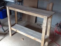 Hand made wood pallet furniture sofa by SoulSisterPalletShop